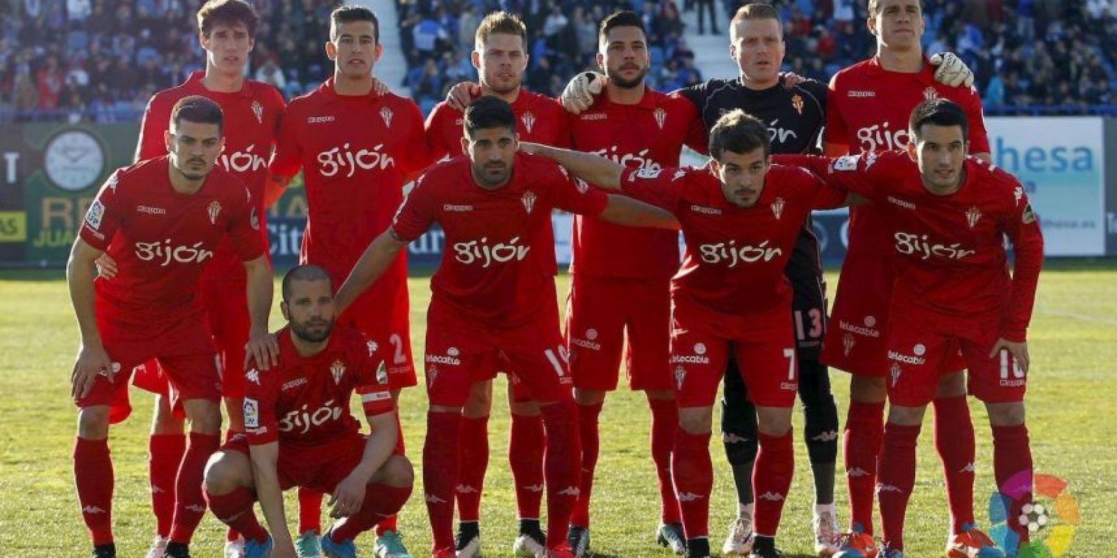 15. Sporting de Gijón / Gijón / DT Aberlardo Fernández / Estadio El Molinón. Foto:Vía facebook.com/realsportingdegijon