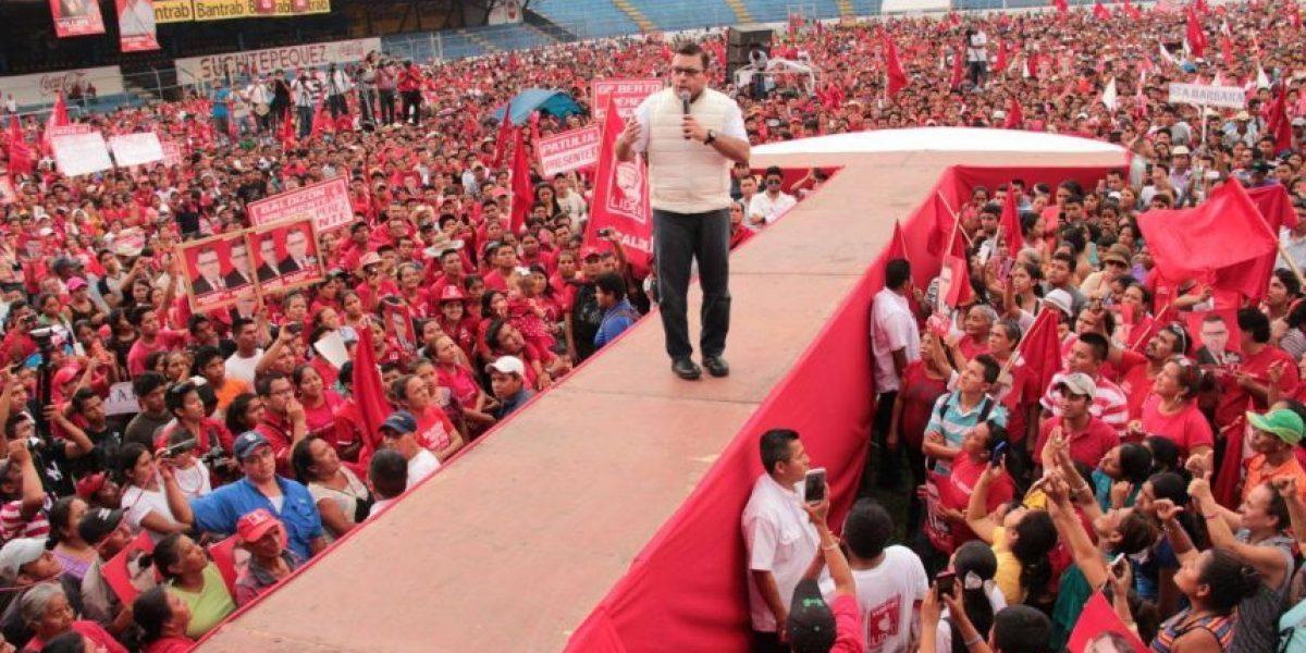 "Video. Baldizón a detractores: ""Gracias a este tipo de gente, Guatemala está cayendo en desgracia"""
