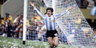 """En 1978 fue campeón del mundo con Argentina, pero nunca pudo ganar la Copa América. Participó en la edición de 1975 en la que la """"Albiceleste"""" fue eliminada en la primera ronda. Foto:Getty Images"""