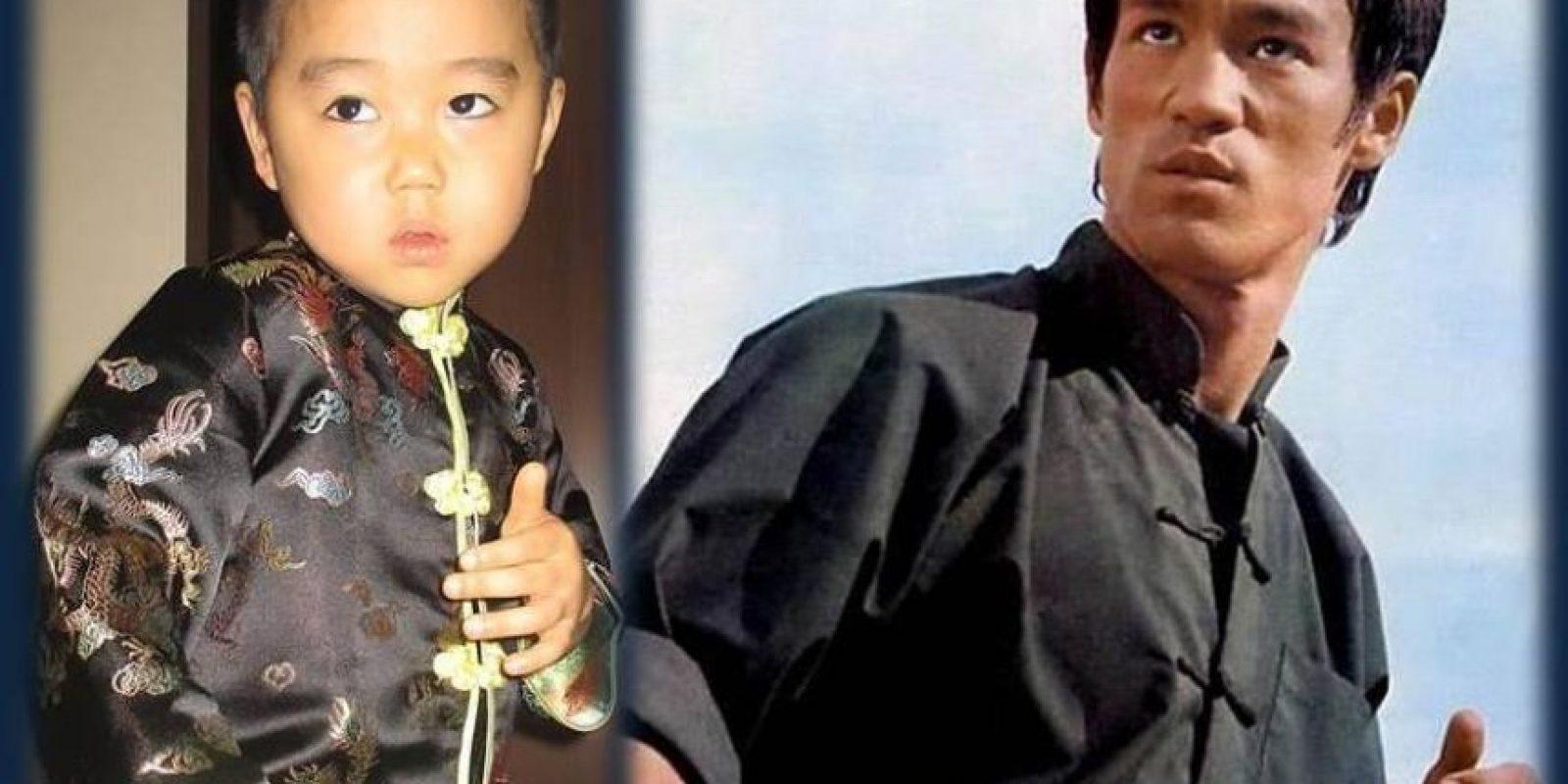 El nombre de pequeño japonés es Ryusei Foto:vía www.facebook.com/ryu.bruce.3