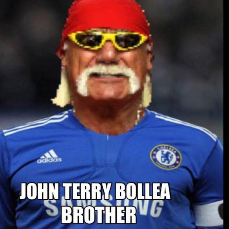 Lo compararon con John Terry, acusado de racismo contra Anton Ferdinand, otro futbolista de raza negra. Foto:facebook.com/WWEMEMES
