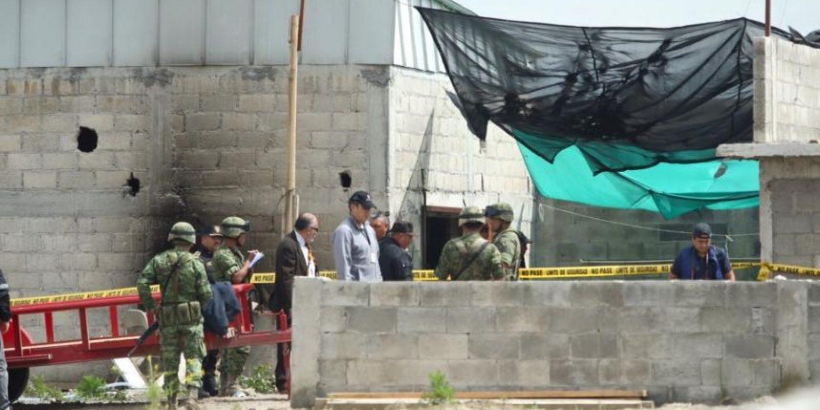 Este es el sitio en el que terminaba el túnes, el cual iniciaba en la celda de Guzmán Loera Foto:Luz Elena Pérez /LatitudesPress