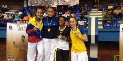 Cheili González gana oro en Campeonato Centroamericano y del Caribe