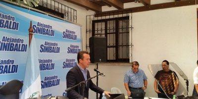 Sinibaldi acusa a Baldetti y retira su candidatura del PP