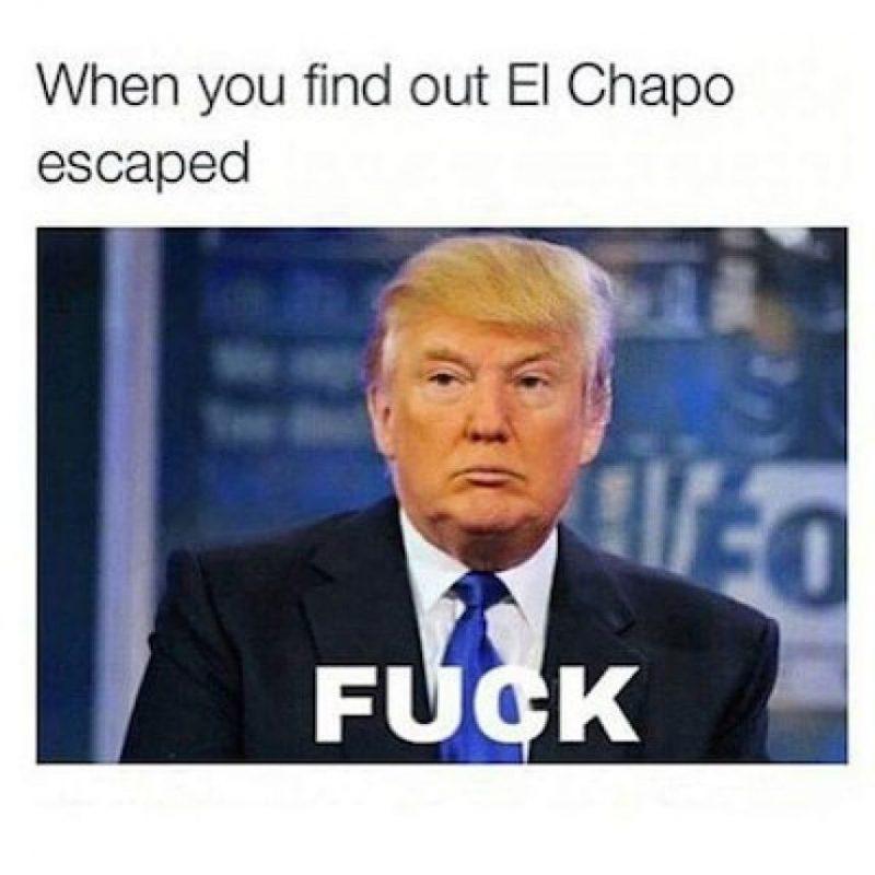 """""""Cuando descubres que el """"Chapo"""" escapó"""" Foto:Instagram.com"""