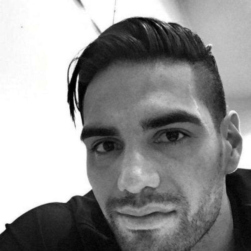 """El """"Tigre"""" colombiano de 29 años es delantero de los """"Blues"""". Foto:Vía instagram.com/FALCAO"""