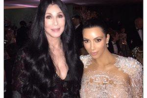 Cher Foto:Instagram.com/KimKardashian