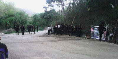 Antimotines llega a la resistencia La Puya para intentar desalojo