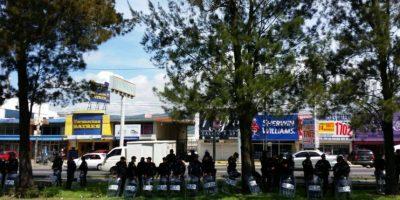 EN IMÁGENES. Afluencia vehicular y presencia policial en encuesta #HagamonosElParo