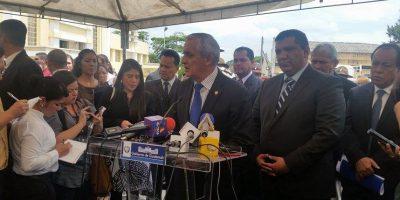 Otto Pérez no asistirá mañana a la citación de la comisión pesquisidora