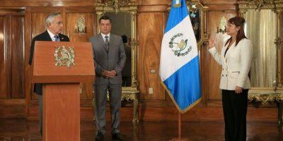 Presidente juramenta a nuevos funcionarios