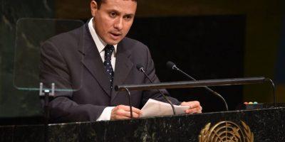 Canciller Carlos Morales: