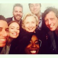 "Diversos actores y actrices, incluyendo a Uzo Aduba de ""Orange is the New Black"" y Olivia Wilde Foto: Instagram.com/HillaryClinton"