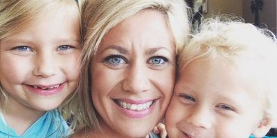 Y sí, lo hizo. Tuvo dos hermosos hijos. Pero se sentía mal con ella misma. Foto:vía Facebook/Kristin Weight Lost Journey