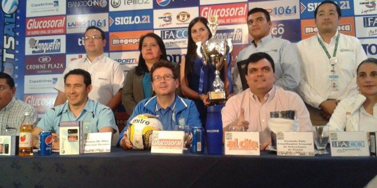 Selección de Futsal se fogueará con Argentina