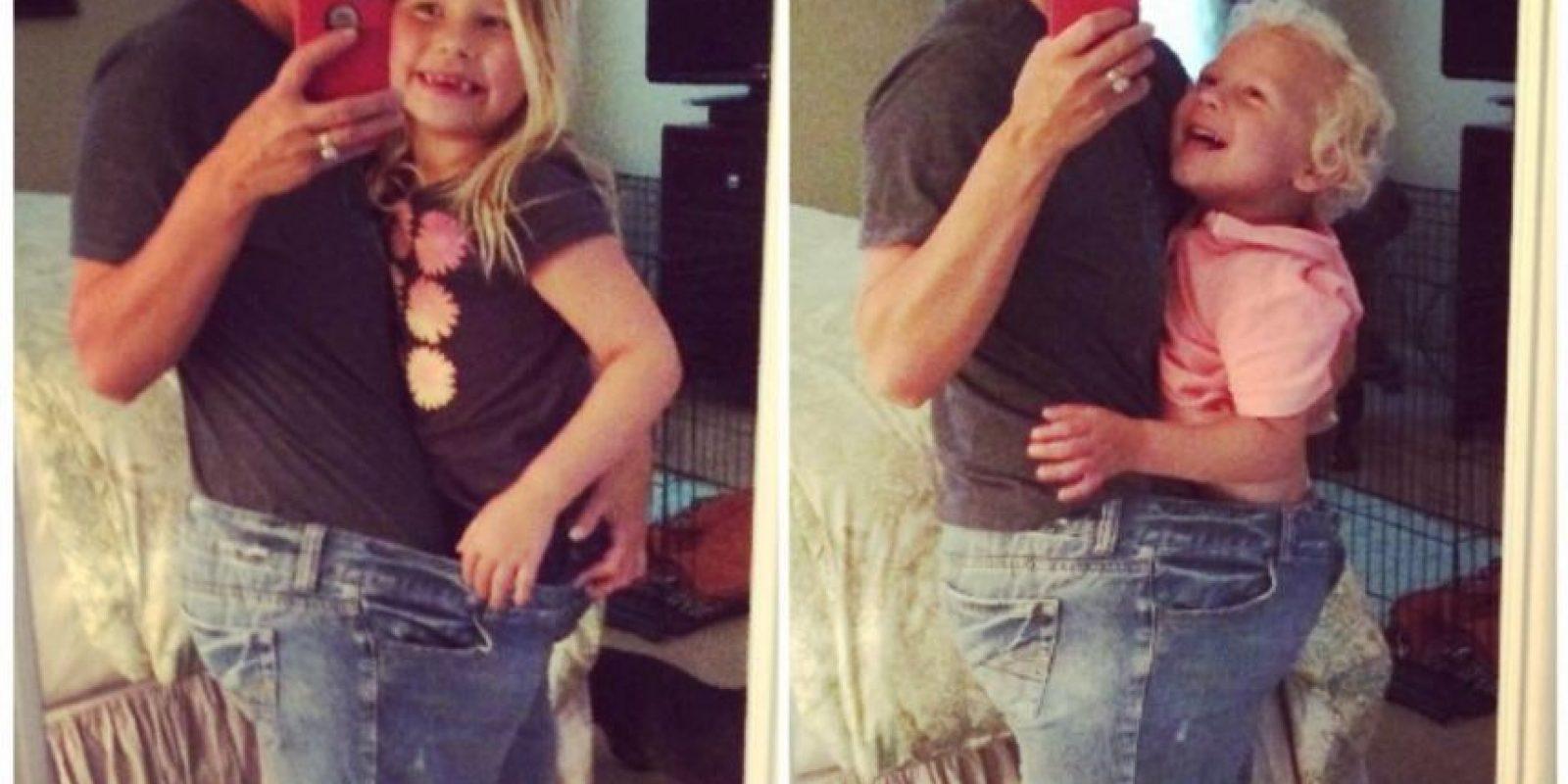 Nunca tuvo citas. La rechazaron por su peso. Creyó que no se casaría. Foto:vía Facebook/Kristin Weight Lost Journey