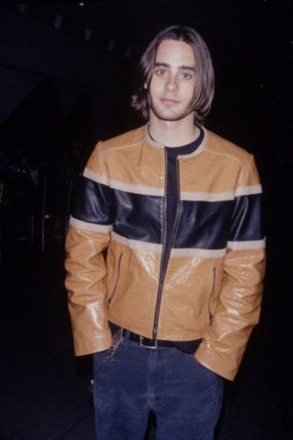 Jared Leto también comenzó en los años 90. Foto:vía Getty Images
