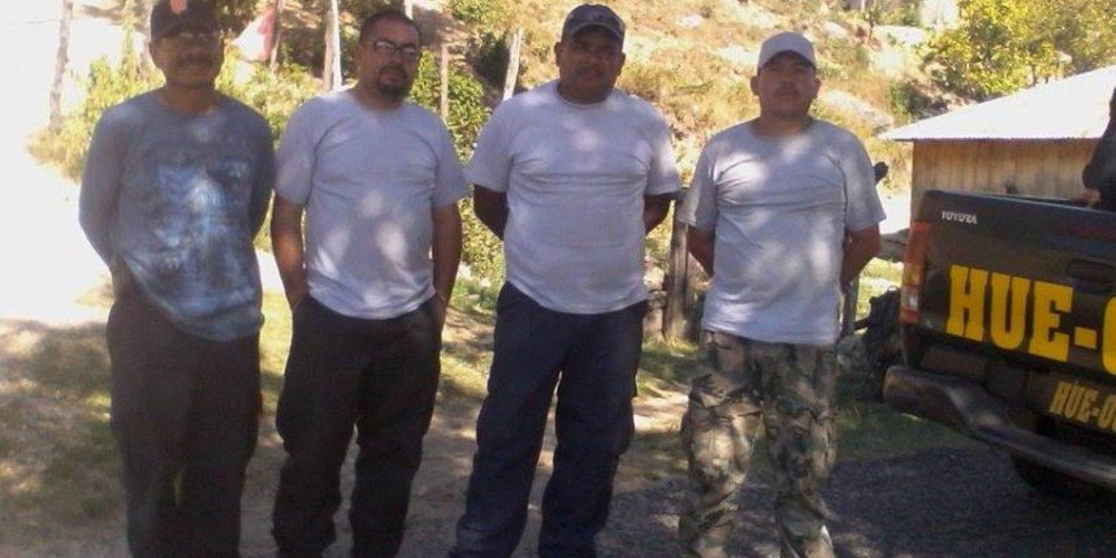 Detenidos. Foto:PNC