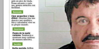 """Esto dice el rostro de """"El Chapo"""" Guzmán"""