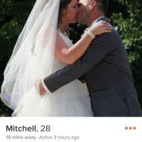 ¿Una foto de boda en una aplicación para conseguir pareja? Foto:Instagram.com/explore/tags/tinderfail/