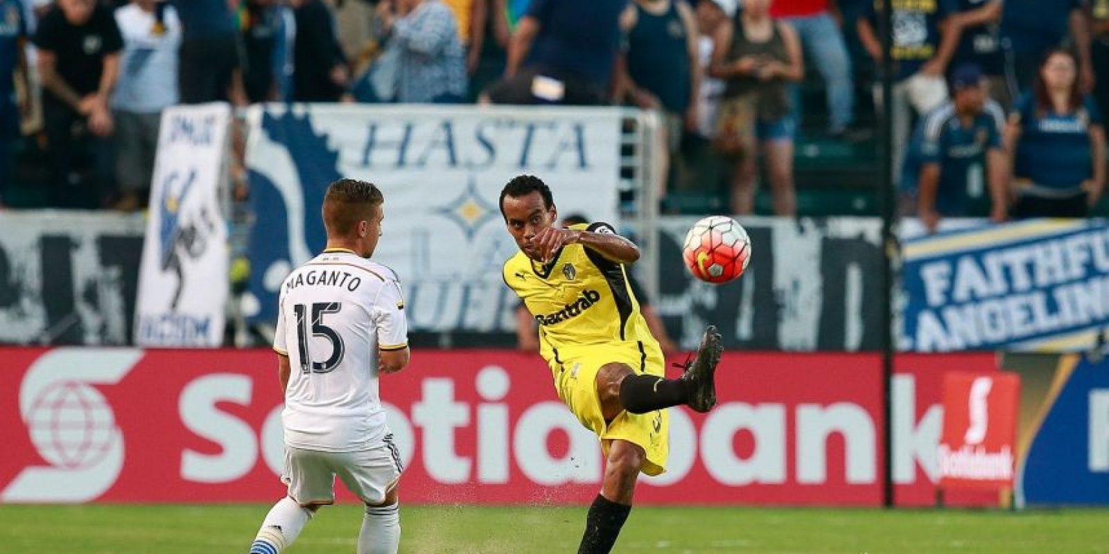 Los cremas casi se despidieron de sus opciones de clasificar a la fase final. Foto:Concacaf, LA Galaxy y Comunicaciones FC