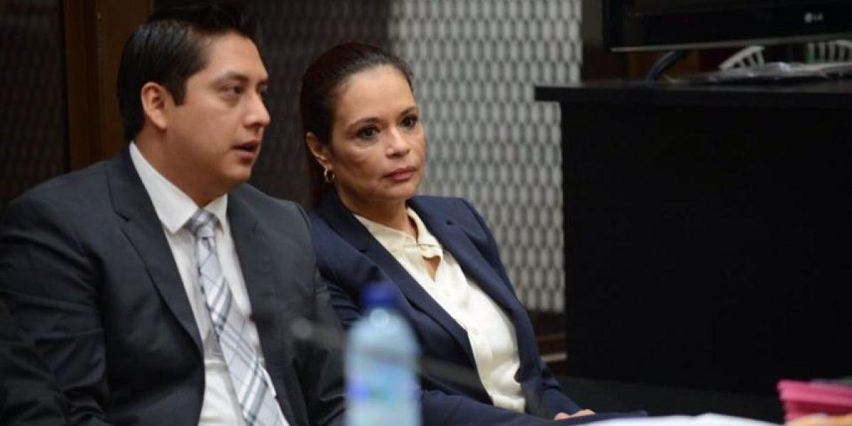 Baldetti se abstiene de declarar y MP inicia con reproducción de escuchas
