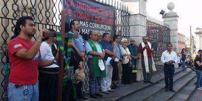 Guatemaltecos se unen en la fe para luchar contra la corrupción