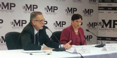 MP y CICIG: Presidente y ex vicepresidenta, las cabezas de #LaLínea