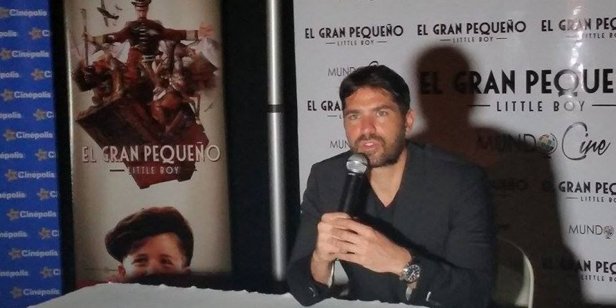 """Eduardo Verástegui: """"'Little Boy' es un cuento para adultos"""""""