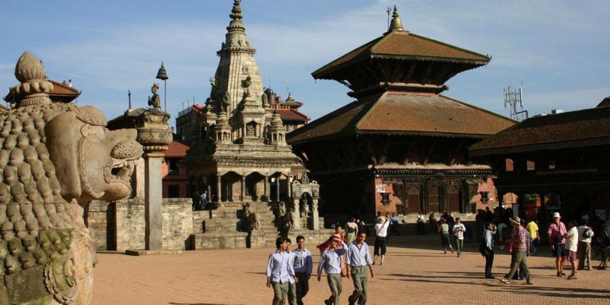 Después del devastador terremoto en Nepal reabren algunos monumentos