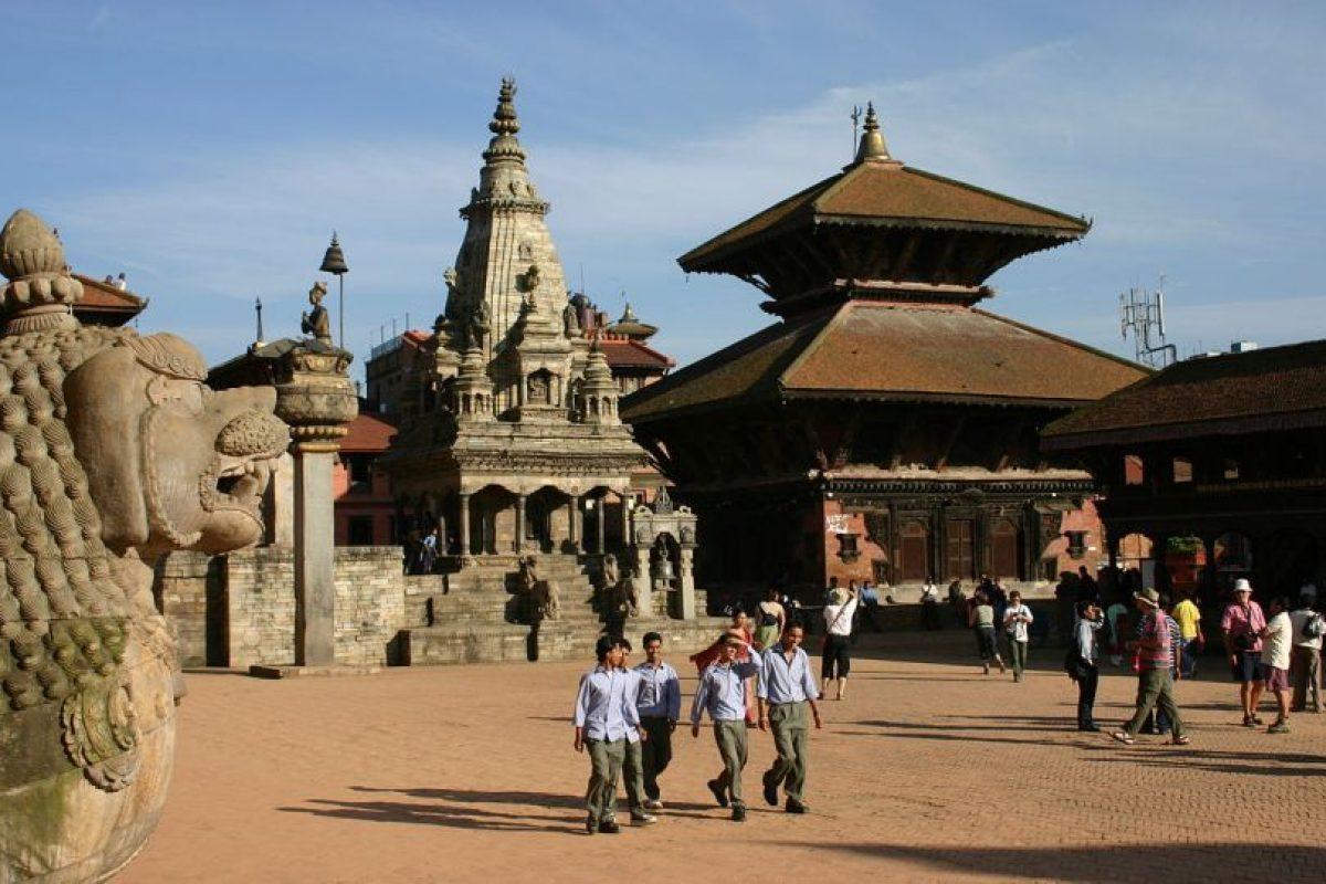 Entre los siete sitios reabiertos se encuentra la plaza de Lalitpur. Foto:Vía wikimedia.org