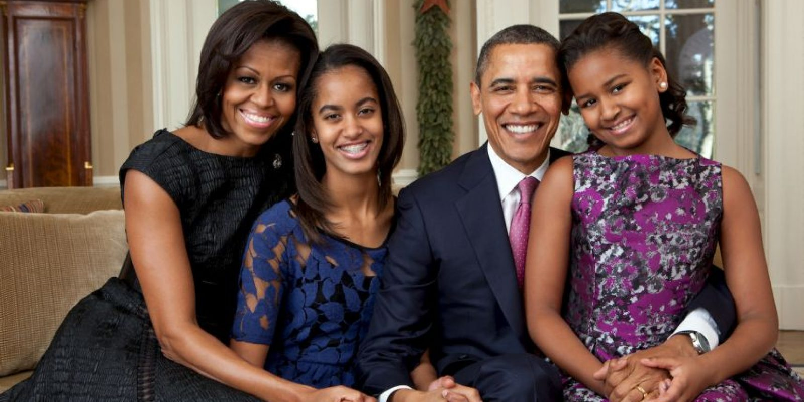 2. Las hijas del presidente de Estados Unidos también tienen prohibidas las redes sociales. Foto:Getty Images