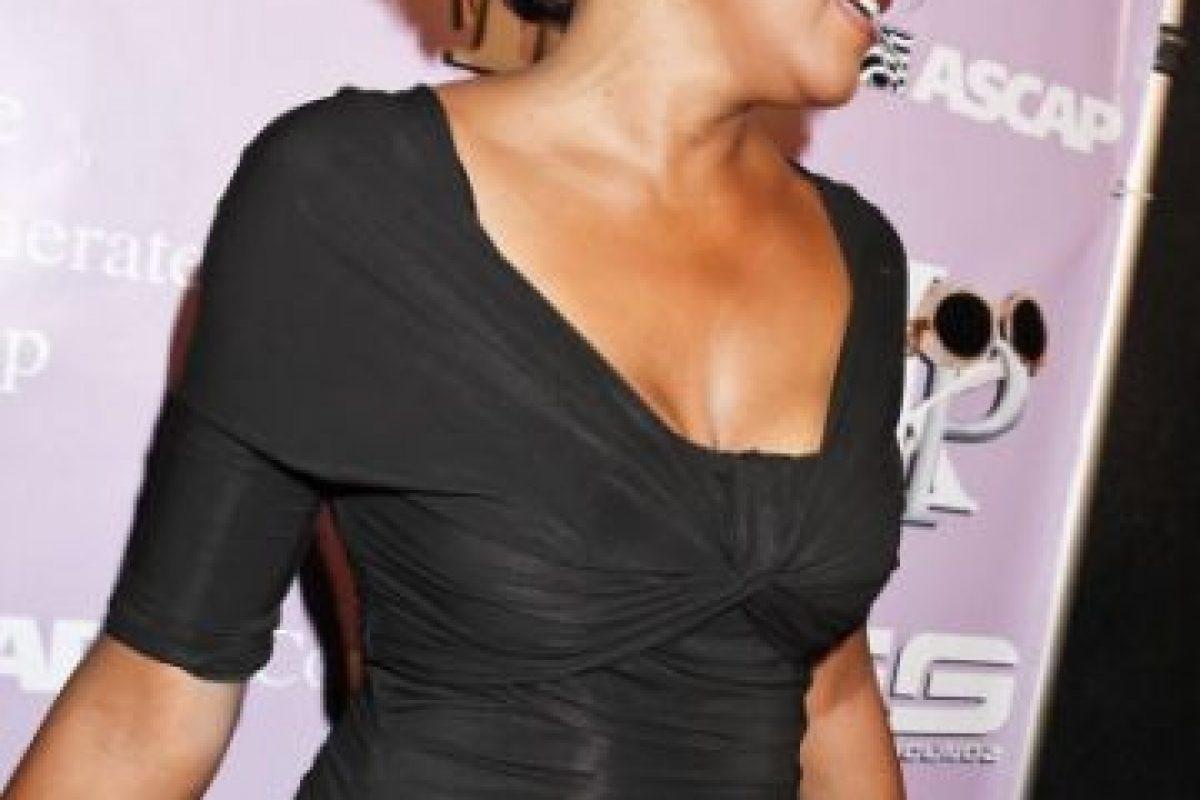 Whitney Houston, en un evento. Murió ahogada en su bañera, luego de una sobredosis de cocaína. Foto:vía Getty Images