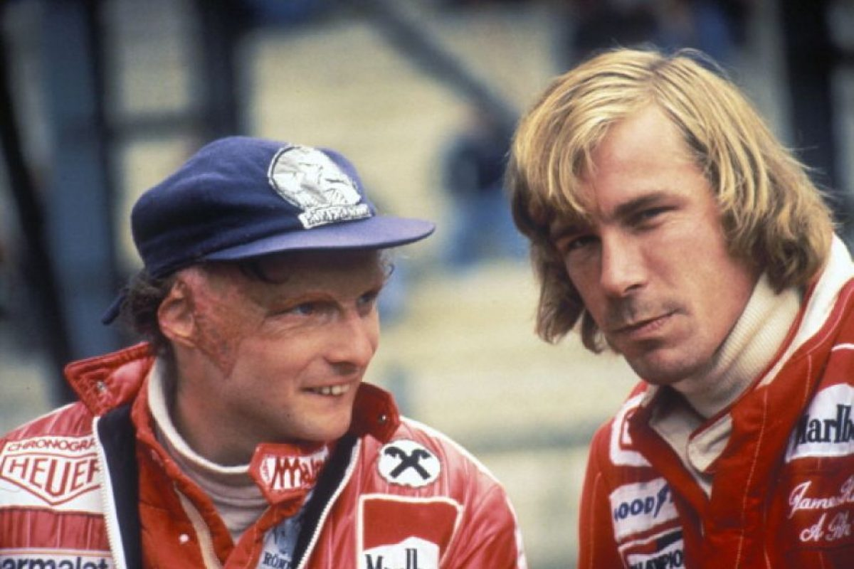 Niki Lauda vs. James Hunt Foto: Getty Images