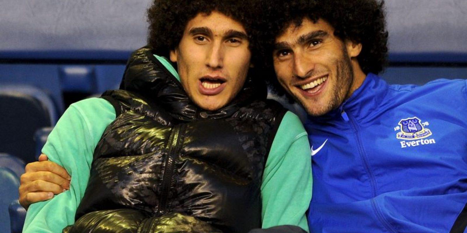 "Maraoune Fellaini, jugador belga del Manchester United, le provocó un ""dolor de cabeza"" a José Mourinho, previo al Chelsea vs Manchester United. Foto:Getty Images"