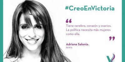 Actualmente se encuentra en campaña. Foto:Facebook.com/pages/Victoria-Donda-Pérez