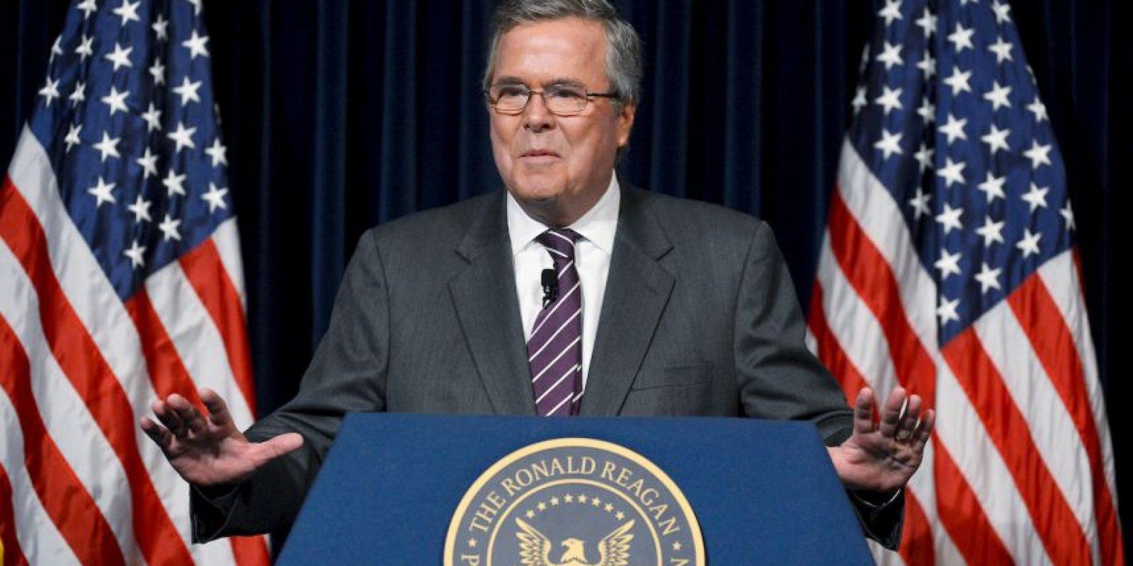 El hermano del expresidente Bush, y posible candidato a la presidencia en Estados Unidos, también aceptó haber tomado la droga Foto:Getty Images