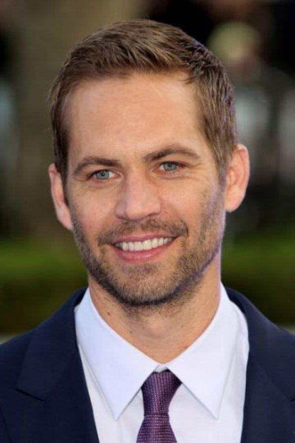 """Actor estadounidense famoso por la saga """"Rápido y Furioso"""". Foto:Getty Images"""