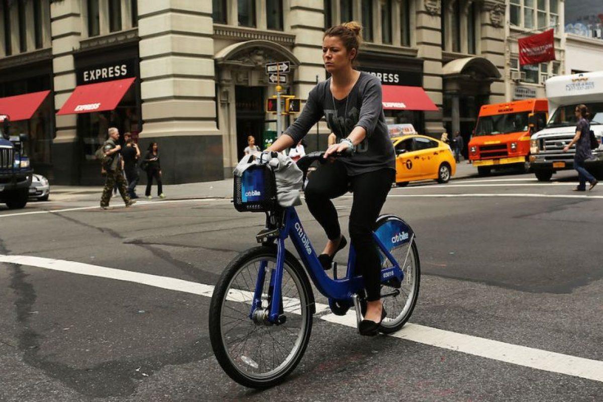 Para ir al trabajo. Foto:Getty Images