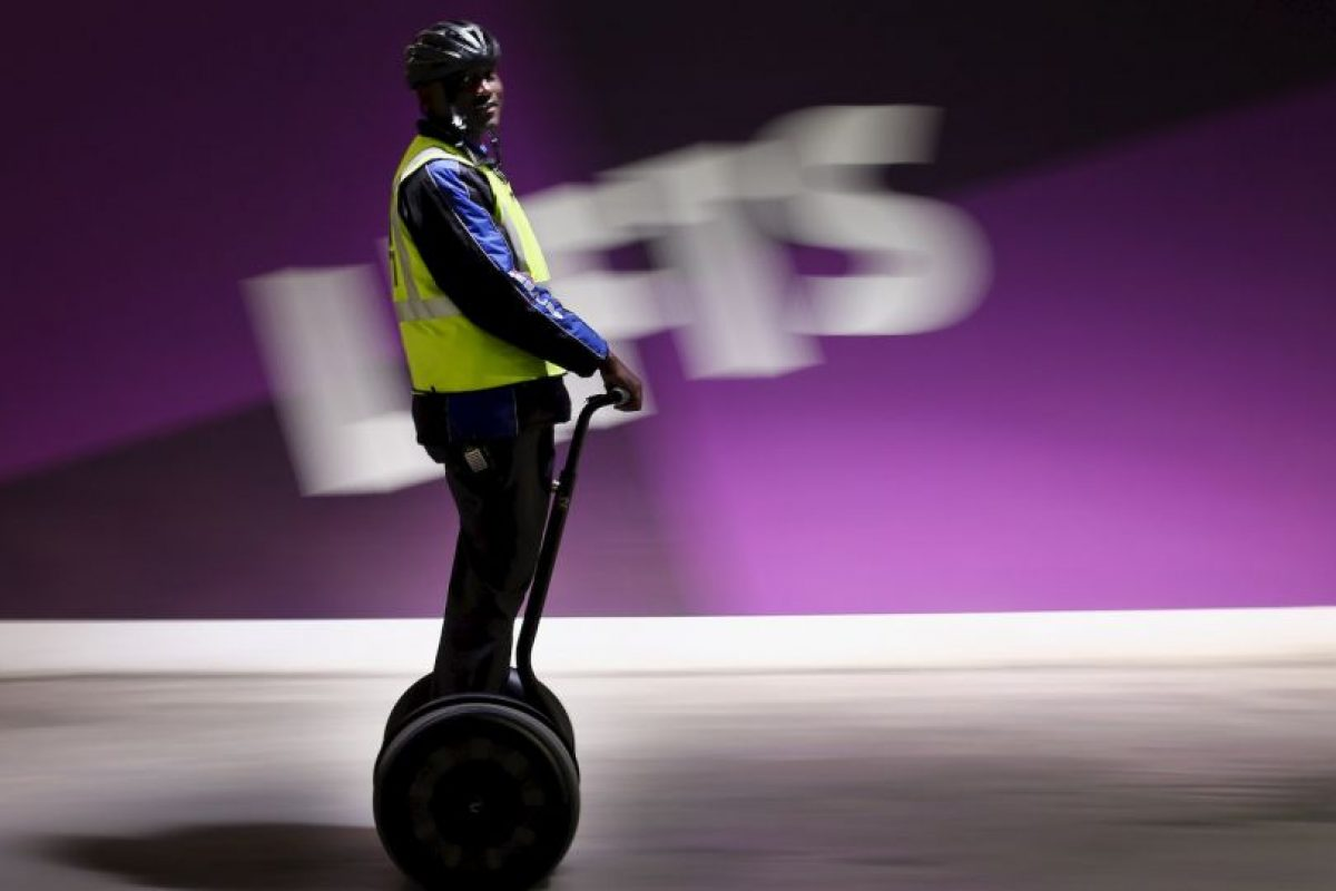 La velocidad para principantes del segway es de 9 km/h Foto:Getty Images