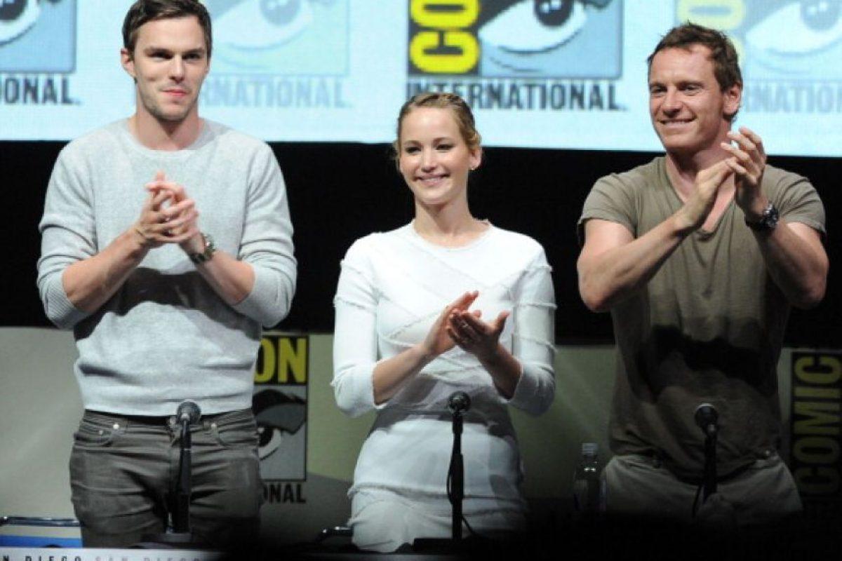 Ahí conoció a la que fue su novia por un buen tiempo, Jennifer Lawrence. Foto:vía Getty Images