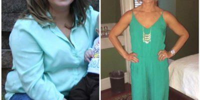 Pero su esposo fue su más grande motivador. Foto:vía Facebook/Kristin Weight Lost Journey