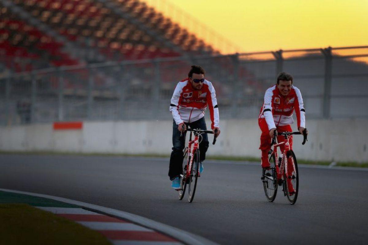 Para entrenar rumbo a una gran competencia. Foto:Getty Images