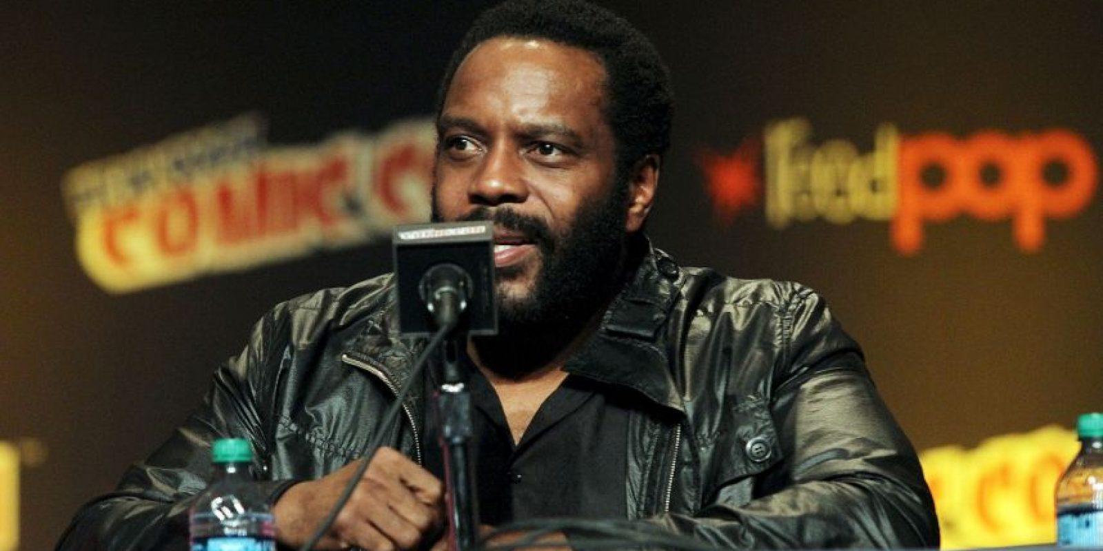 """En """"The Walking Dead"""", el papel de Coleman es uno de los sobrevivientes al apocalipsis zombie y se unió al grupo liderado por """"Rick Grimes"""", interpretado por Andrew Lincoln. Foto:Getty Images"""
