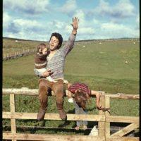 El ex Beatle heredó genes y talento musical a su único hijo, James. Foto:vía facebook.com/paulmccartney