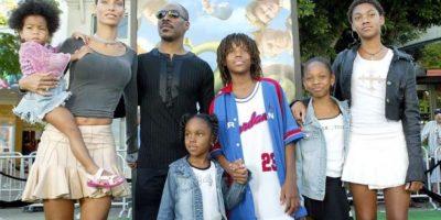 Eddie Murphy y su familia Foto:Agencias