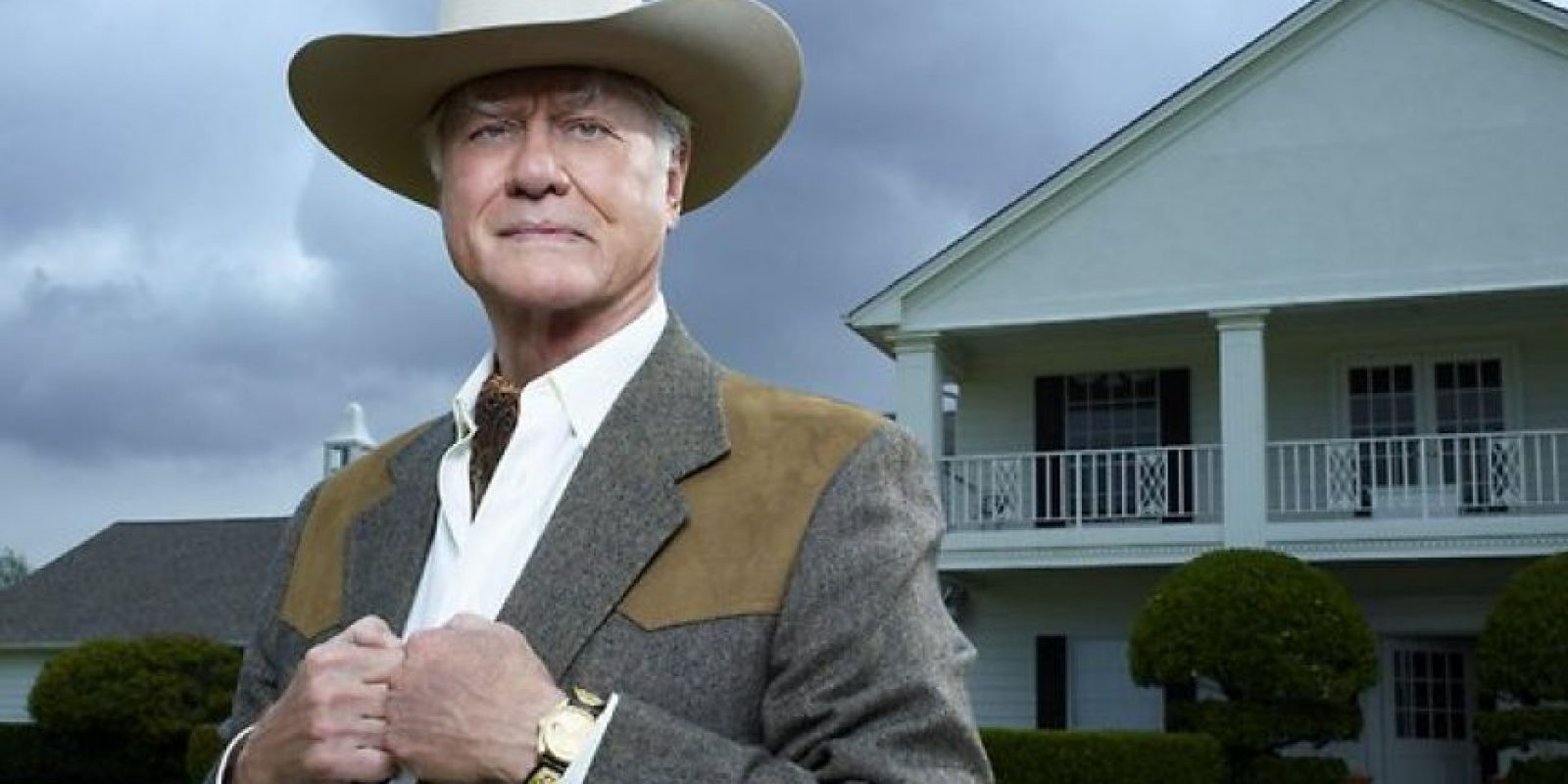 Larry Hagman en Dallas Foto: Agencias