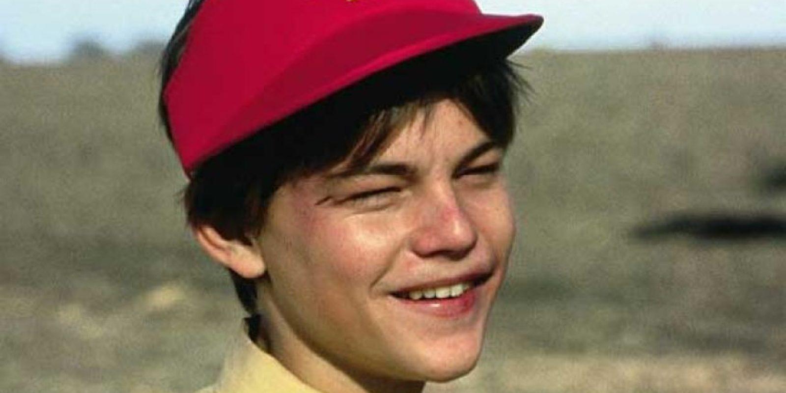 """1. Leonardo Di Caprio comenzó en películas como """"Critters"""" y """"This Boy´s Life"""", en 1993. Foto:vía Tumblr"""