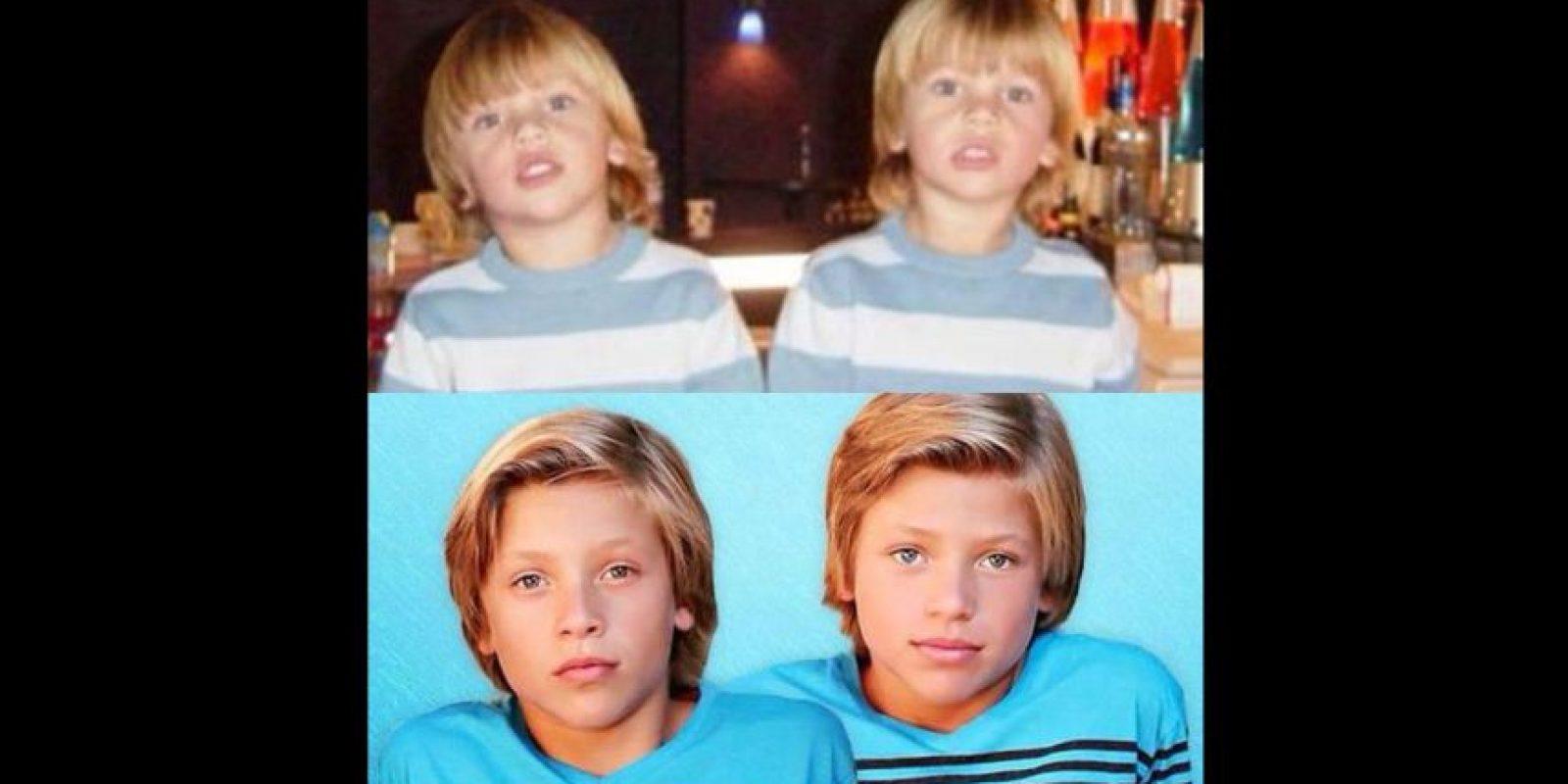 Ahora tienen 13 años. Foto:vía twitter.com/krissimmons02