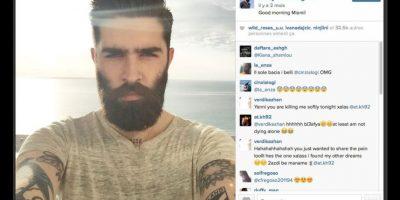 Chris John Millington ANTES Foto:Instagram